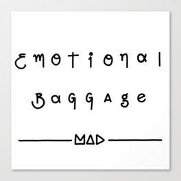 Emotional Baggage  Canvas Print