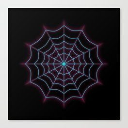 Twilight Web - Gwen Canvas Print