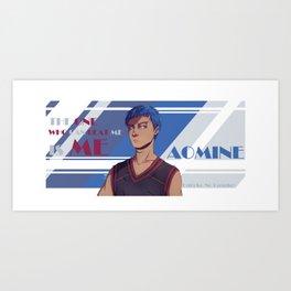 Aomine Art Print