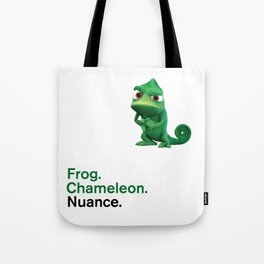 Nuance - Tangled - White Tote Bag