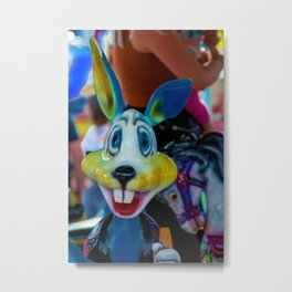 The colourful rabbit Metal Print