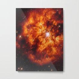 Cosmic Couple Metal Print