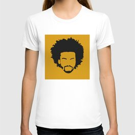 yellow orange T-shirt