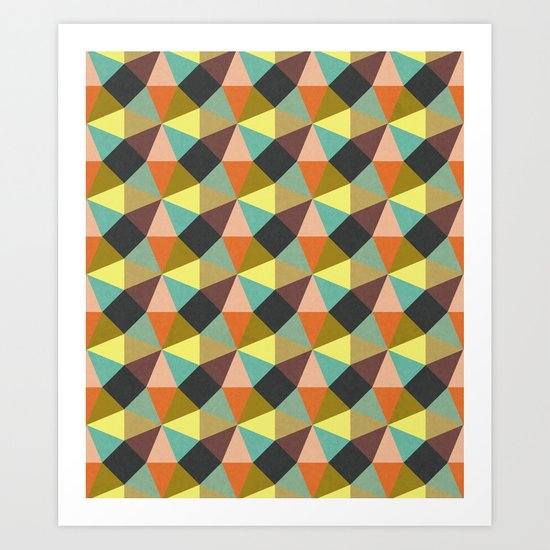Simply Symmetry Art Print