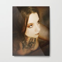 I still remember the night he made me feel like Cleopatra Metal Print