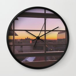 Capital Square Wall Clock