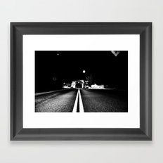 Tunnel to Tahoe Framed Art Print