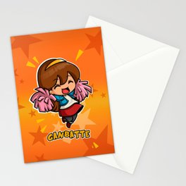 GANBATTE Stationery Cards