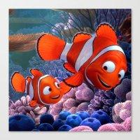 nemo Canvas Prints featuring Nemo by Max Jones