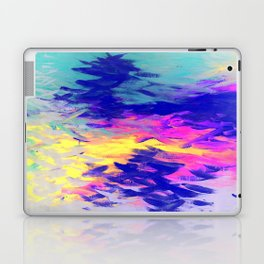 Neon Mimosa Inspired Painting Laptop & iPad Skin