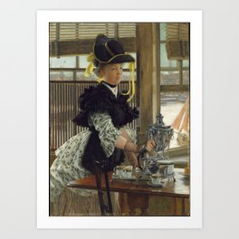 Tea By James Tissot Art Print