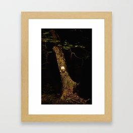 real tree 8 Framed Art Print