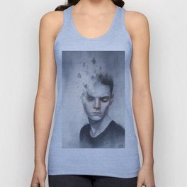 Strained Unisex Tank Top