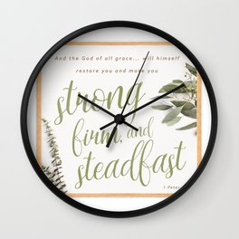 1 Peter 5:10 Wall Clock