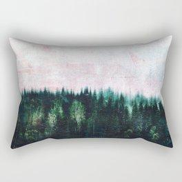 Deep dark forests Rectangular Pillow