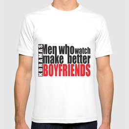 Men Who Watch Kdramas T-shirt
