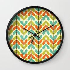 Amilly's Garden Wall Clock