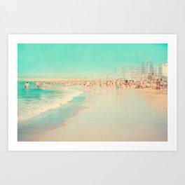 beach XIX Art Print