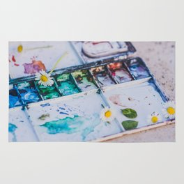 Watercolor Rug