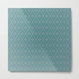 Mae Pattern XII Metal Print