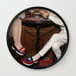 I'd like to take you on a date. Sixteen past eight Wall Clock
