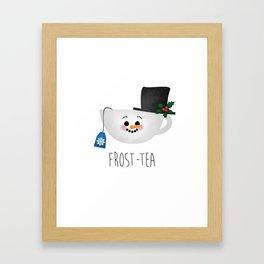 Frost-tea Framed Art Print