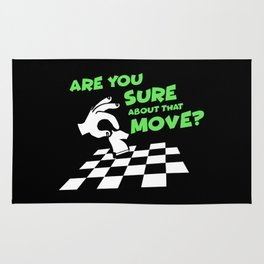 Are You Sure About That Move? | Chess Rug