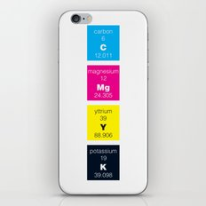 The Elements of Color iPhone & iPod Skin