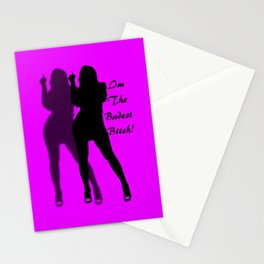 The Badest Bitch Stationery Cards