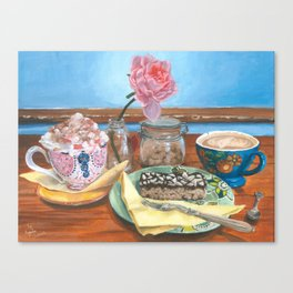 ''Catching Up'' Canvas Print