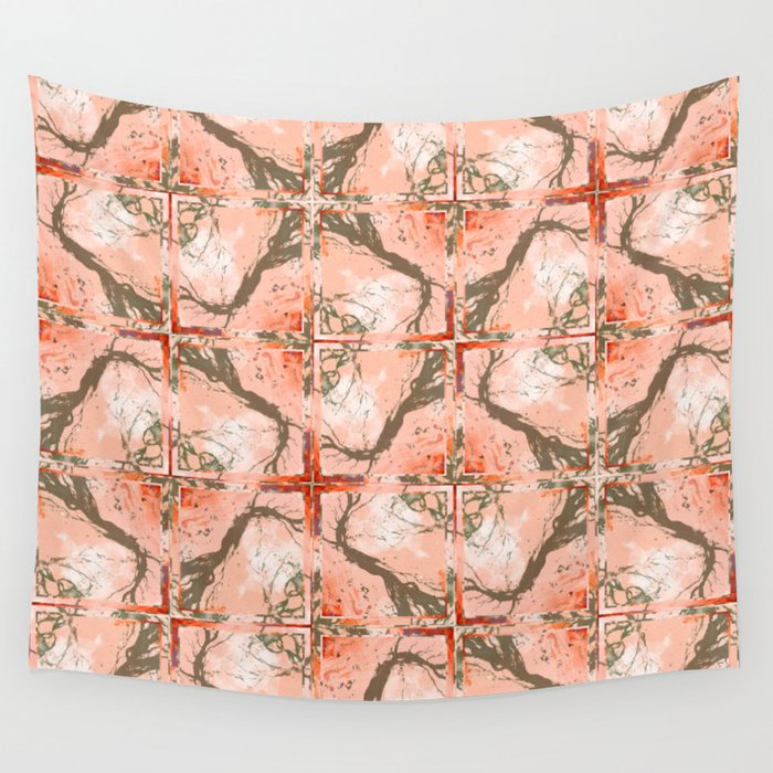 Creeping Vines Pattern Wall Tapestry
