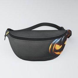 Halloween Pumpkin Jack-O-Lantern Spooky Fanny Pack