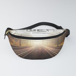 going home trackside Fanny Pack