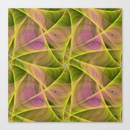 Fractal veils Canvas Print