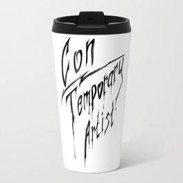 Con|Temporary Artist Travel Mug