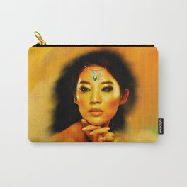 Green Eyed Beauty Carry-All Pouch