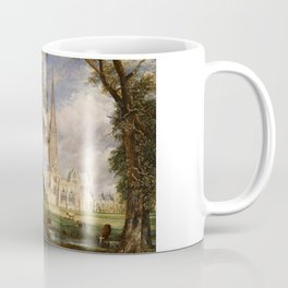 """John Constable """"Salisbury Cathedral from the Bishop's Garden"""" Coffee Mug"""