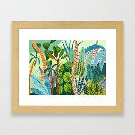 Malaysian Jungles Framed Art Print