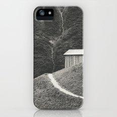 HILLSIDE HUT iPhone (5, 5s) Slim Case