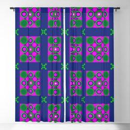 Disco Preppy Tiles Blackout Curtain