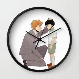 Reigen & Mob Wall Clock