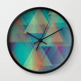 Variagated Wall Clock