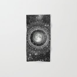 Major Tom (floating in my tin can, far above the Moon) Hand & Bath Towel