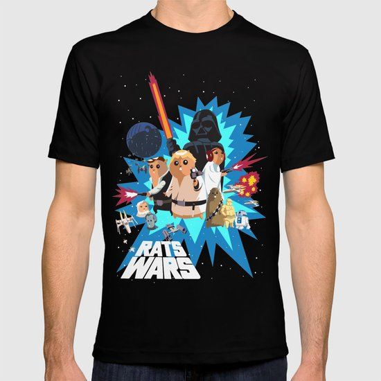 Star Wars FanArt: Rats Wars T-shirt