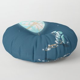 The collector Floor Pillow