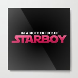 Starboy Metal Print