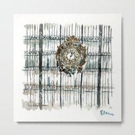 L'Horologe Metal Print