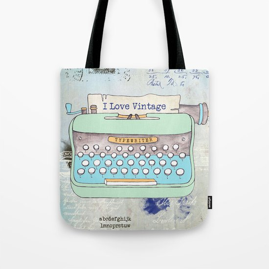 Typewriter #8 Tote Bag