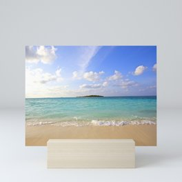 Maldives Beach Mini Art Print