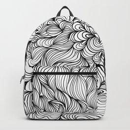 LineArt (Black & White) Backpack